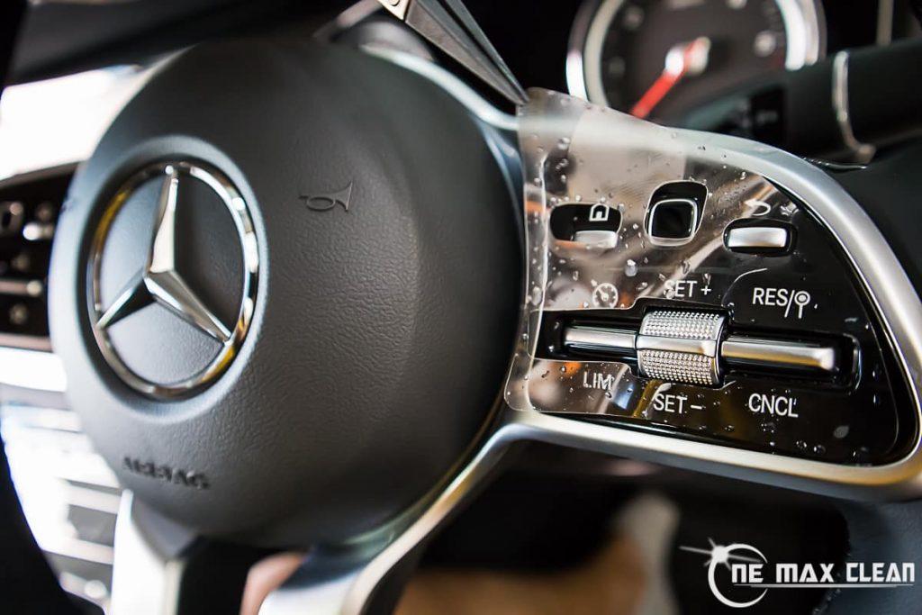 ฟิล์มใสกันรอยภายใน Mercedes-Benz E220d