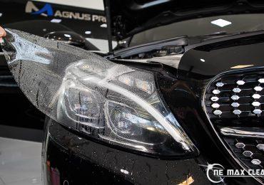 ฟิล์มกันรอยรถยนต์ Mercedes-Benz C250 coupe